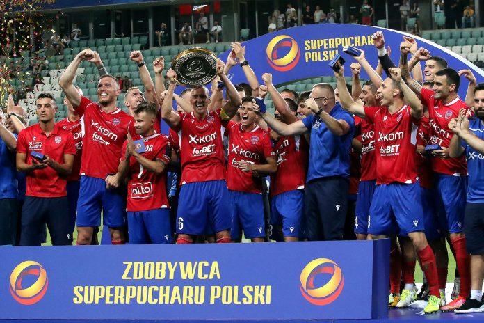 Raków Częstochowa pokonał Legię Warszawa i zdobył Superpuchar !!! 13