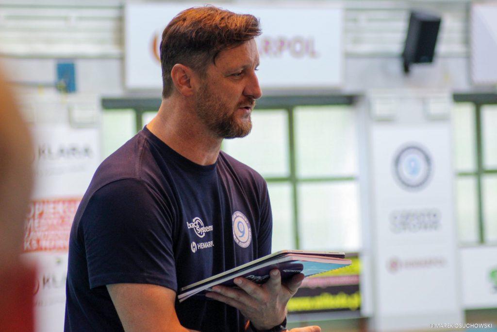 Siatkarze Exact Systems Norwid pod okiem trenera Piotra Gruszki rozpoczęli przygotowania do nowego sezonu 1