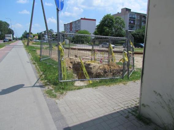ciepłociąg ul. Jagiellońska 3
