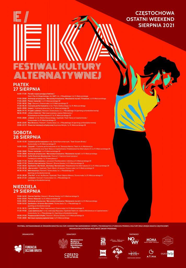 eFKA w Częstochowie. Trzy dni festiwalowych atrakcji z udziałem 150 twórców 1