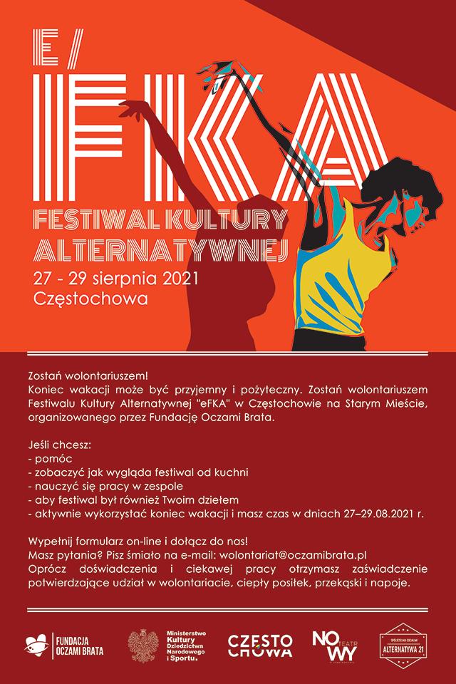Zostań wolontariuszem Festiwalu Kultury Alternatywnej w Częstochowie! 1