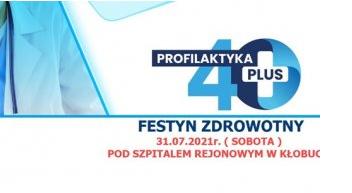 Festyn zdrowotny Profilaktyka 40 plus w Kłobucku 1