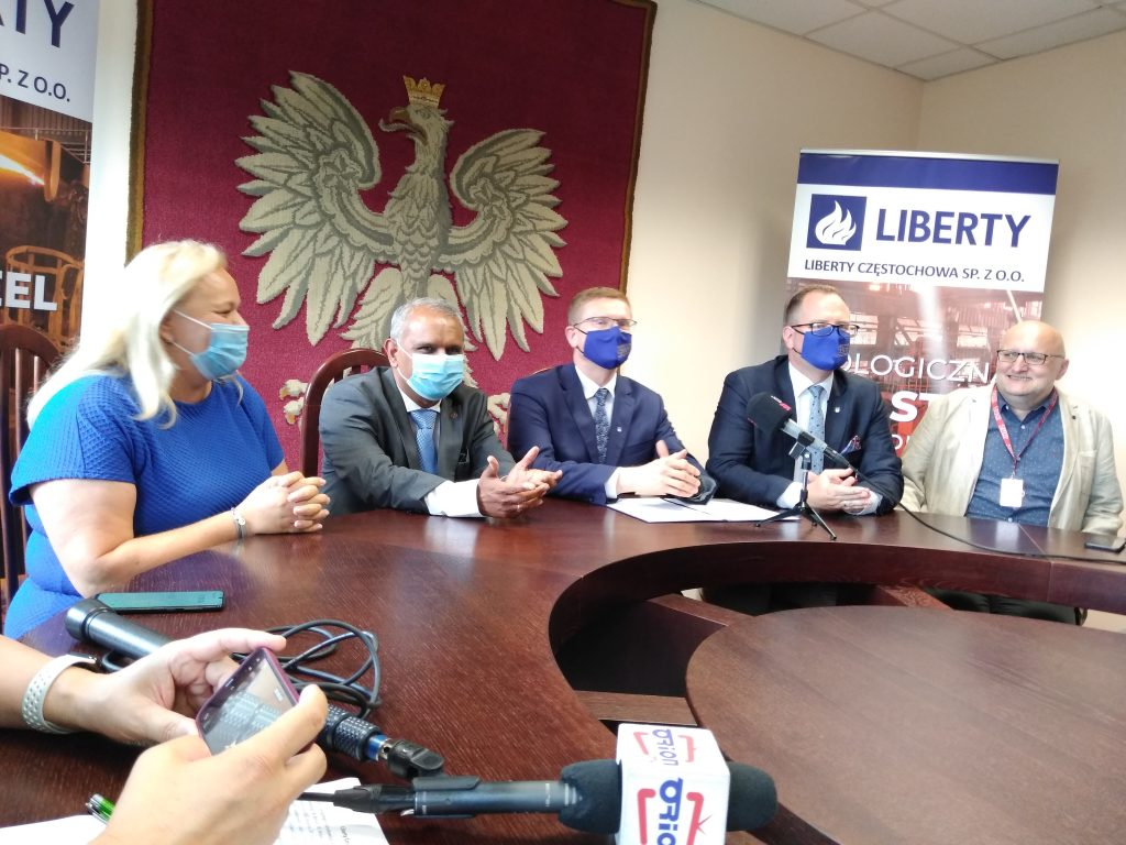Nowy właściciel częstochowskiej huty, Spółka Liberty Częstochowa i samorząd nawiązali współpracę 2