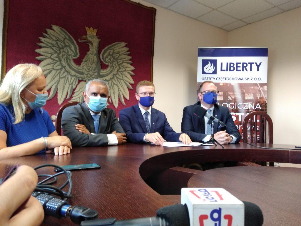 Nowy właściciel częstochowskiej huty, Spółka Liberty Częstochowa i samorząd nawiązali współpracę 3