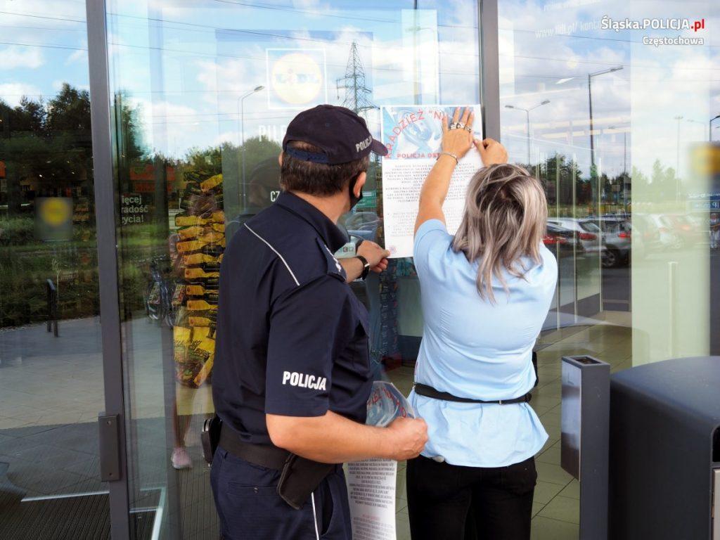 """Kierowco, uważaj na kradzieże """"na koło"""" - ostrzega częstochowska policja 3"""