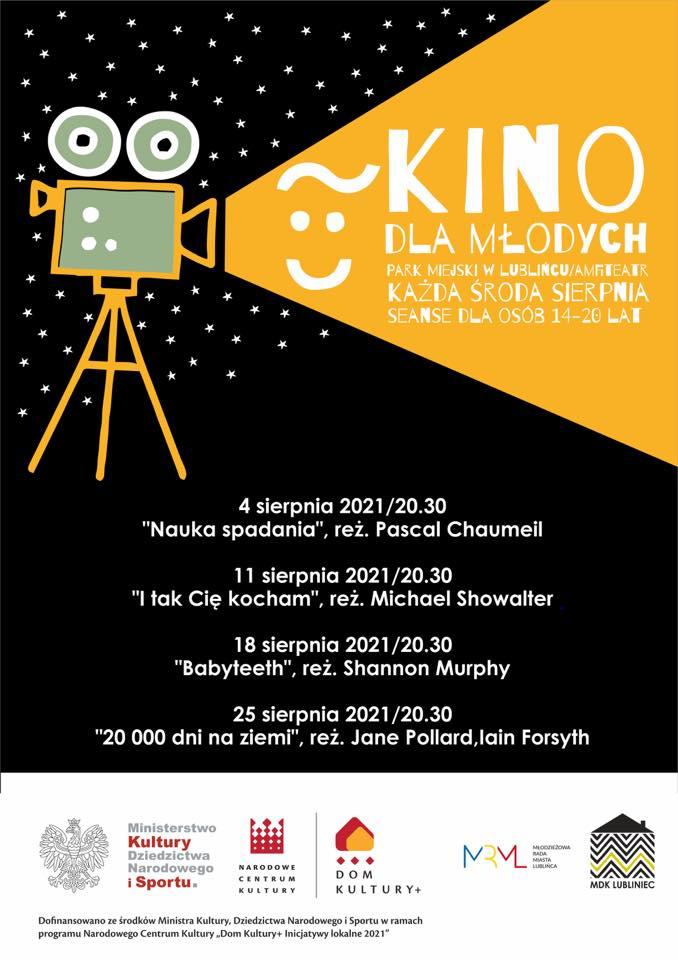 """""""Kino dla Młodych"""" w Lublińcu. To seanse dla osób w wieku 14-20 lat 1"""