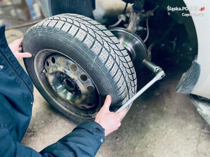 """Kierowco, uważaj na kradzieże """"na koło"""" - ostrzega częstochowska policja 6"""