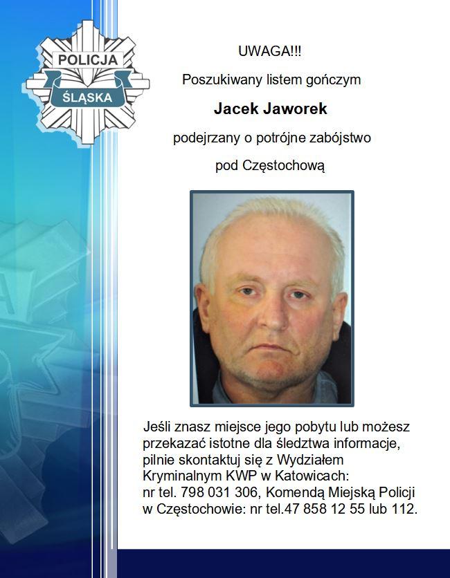Jacek Jaworek podejrzany o potrójne zabójstwo nadal nieuchwytny. Policja zakończyła działania w okolicach wsi, w której doszło do tragedii 1