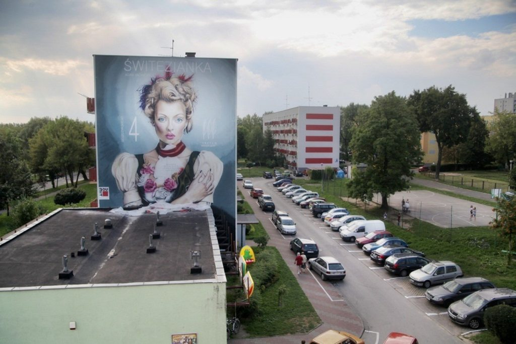 Murale sposobem na upiększanie miast 1