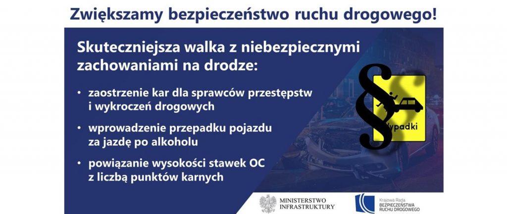 Piraci drogowi i pijani kierowcy mają być ostrzej karani. Rząd szykuje zmiany w prawie 1