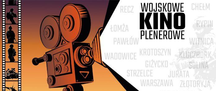 plakat wojskowe kino plenerowe