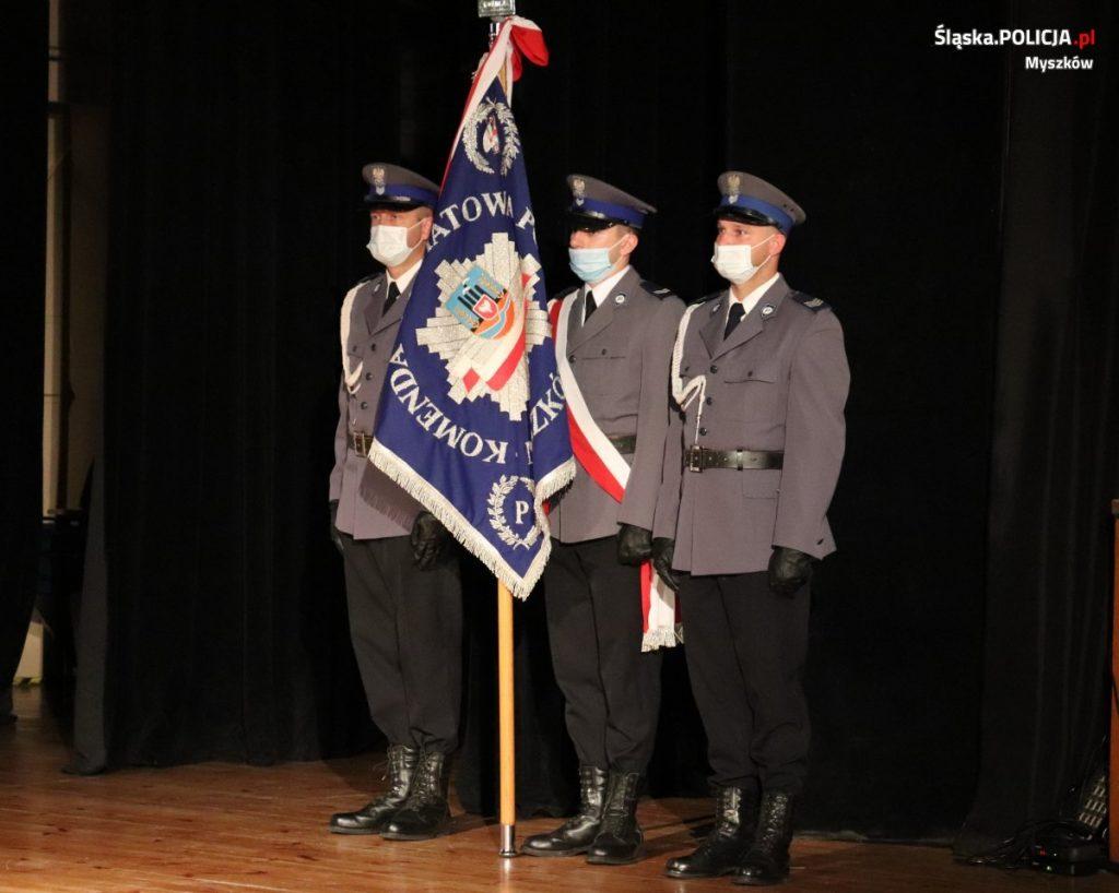 Święto Policji w myszkowskim garnizonie 10