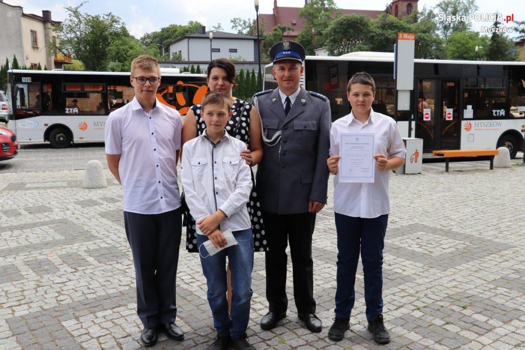 Święto Policji w myszkowskim garnizonie 13
