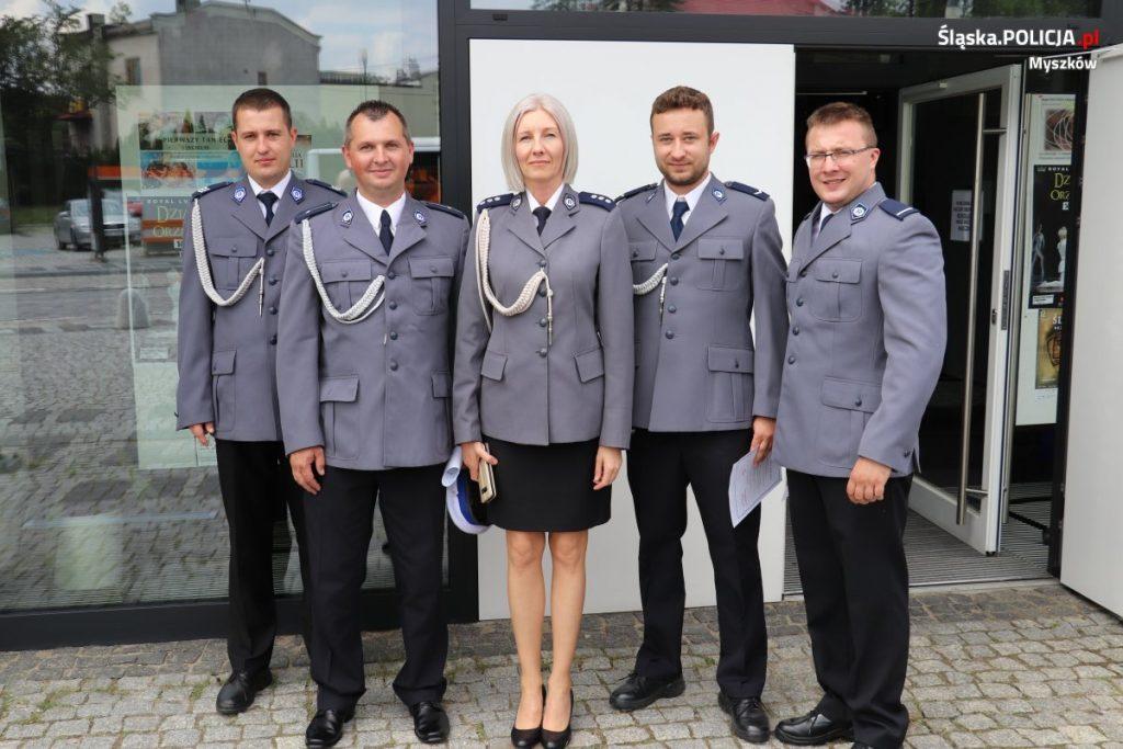 Święto Policji w myszkowskim garnizonie 14
