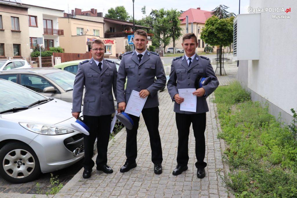 Święto Policji w myszkowskim garnizonie 15