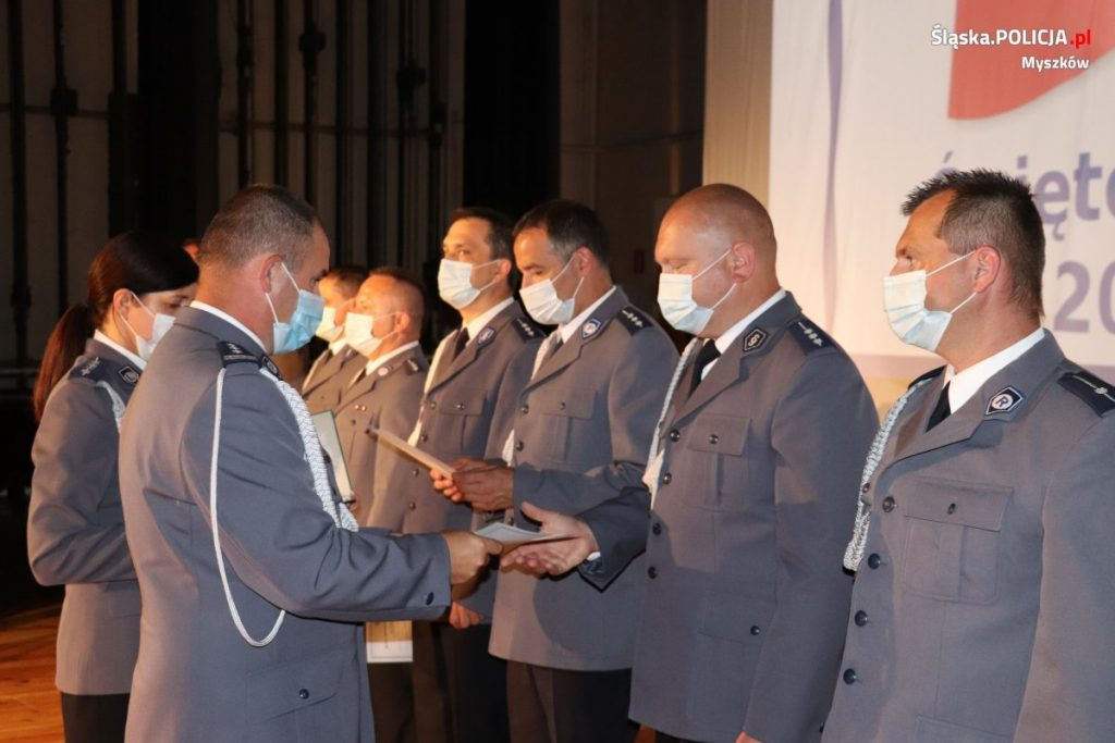 Święto Policji w myszkowskim garnizonie 6