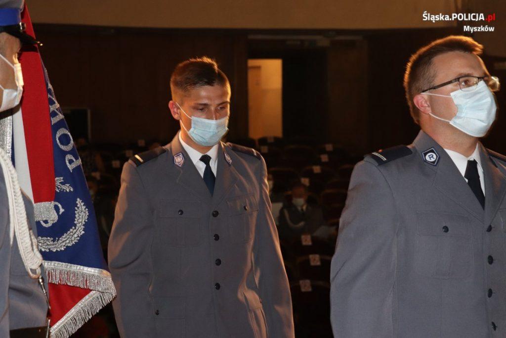 Święto Policji w myszkowskim garnizonie 8