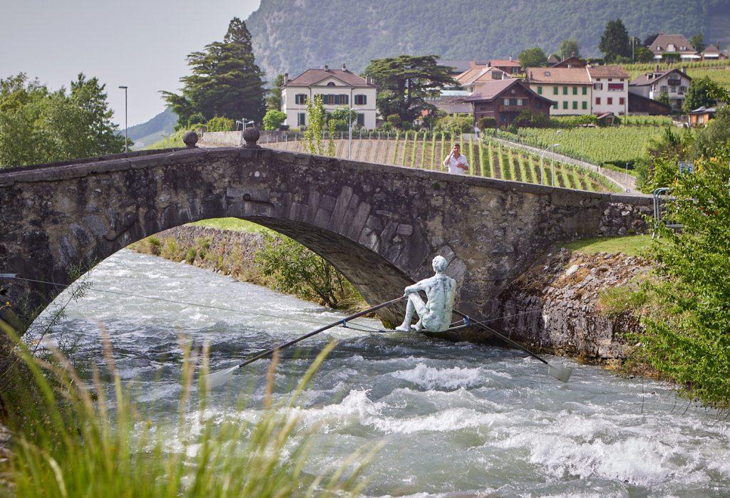Rzeźby balansujące Jerzego Kędziory z Poczesnej znów wyruszyły w świat 3