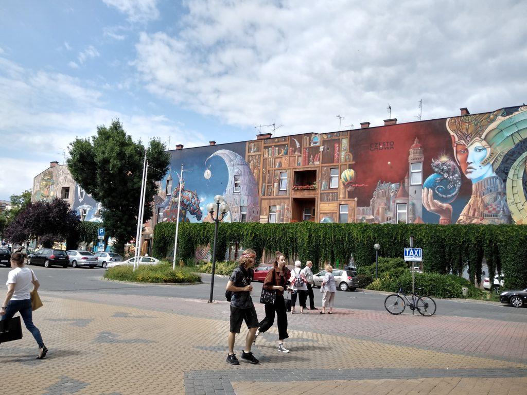 Murale sposobem na upiększanie miast 12