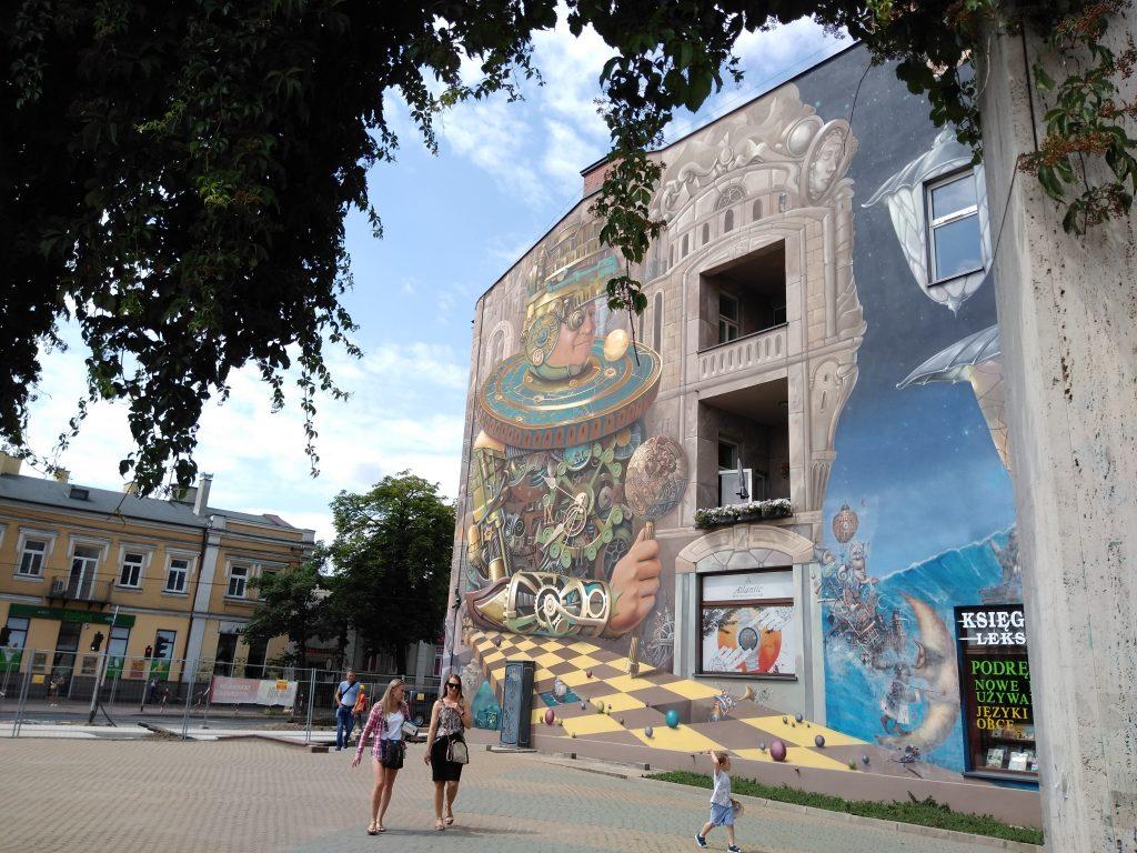 Murale sposobem na upiększanie miast 13