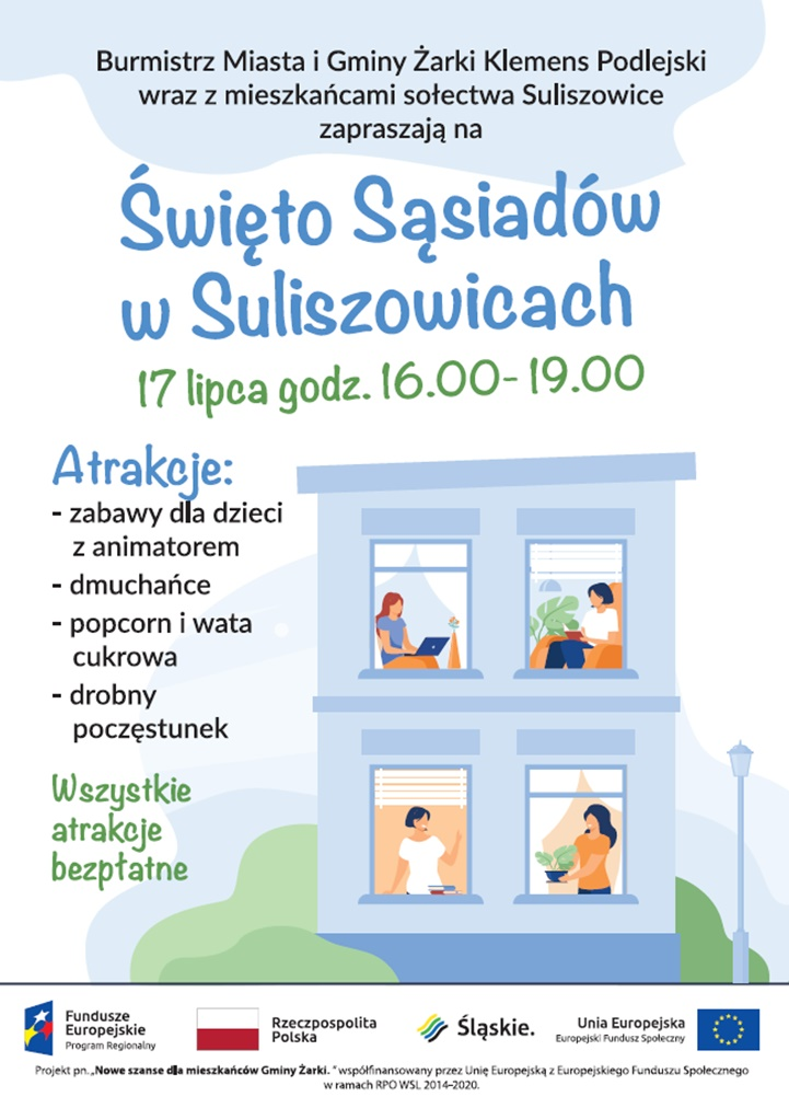 """Koleje """"Święto Sąsiadów"""". Gmina Żarki zaprasza 1"""