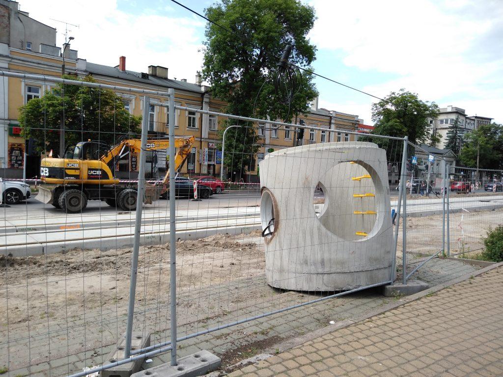 Postęp prac przy modernizacji torowiska 11
