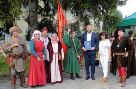 Impreza plenerowa Łowy Króla Kazimierza w Przedborzu 1