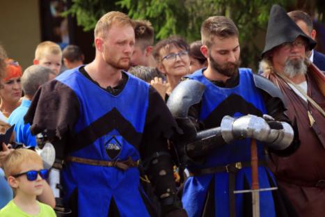 Impreza plenerowa Łowy Króla Kazimierza w Przedborzu 11