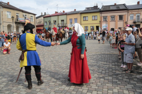 Impreza plenerowa Łowy Króla Kazimierza w Przedborzu 13