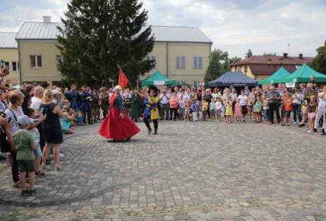 Impreza plenerowa Łowy Króla Kazimierza w Przedborzu 14