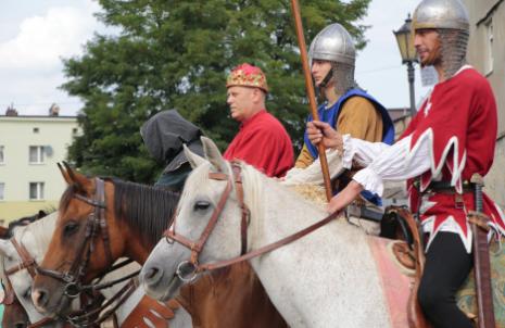 Impreza plenerowa Łowy Króla Kazimierza w Przedborzu 15