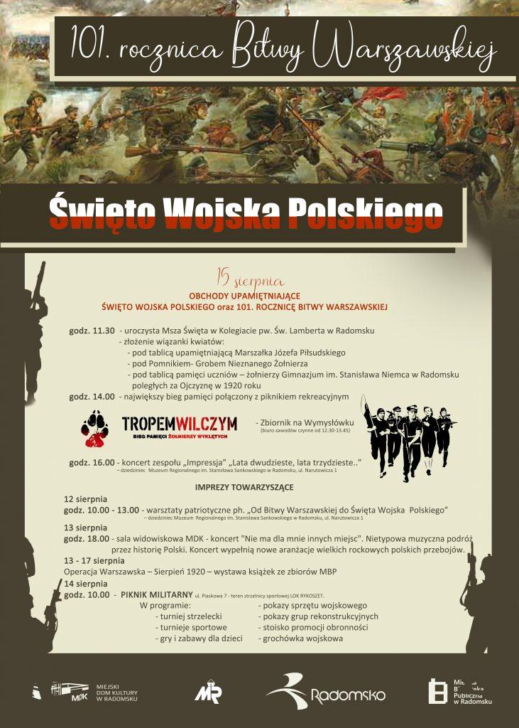Obchody Święta Wojska Polskiego w Radomsku 1