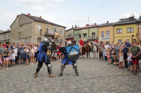 Impreza plenerowa Łowy Króla Kazimierza w Przedborzu 17