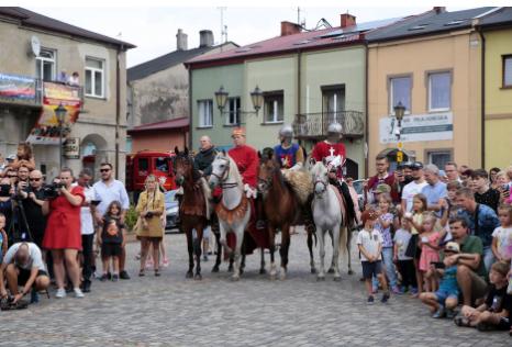 Impreza plenerowa Łowy Króla Kazimierza w Przedborzu 18