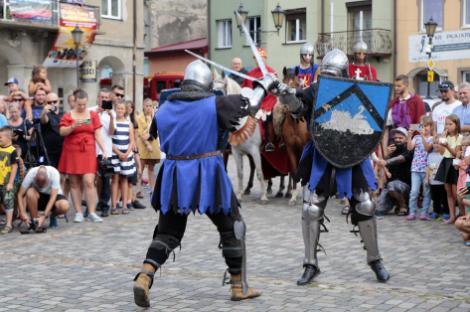 Impreza plenerowa Łowy Króla Kazimierza w Przedborzu 19