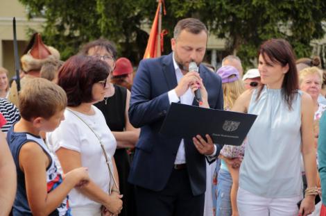 Impreza plenerowa Łowy Króla Kazimierza w Przedborzu 25