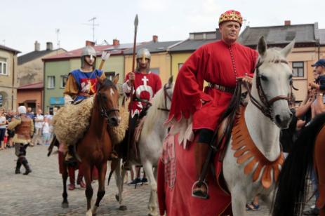 Impreza plenerowa Łowy Króla Kazimierza w Przedborzu 27