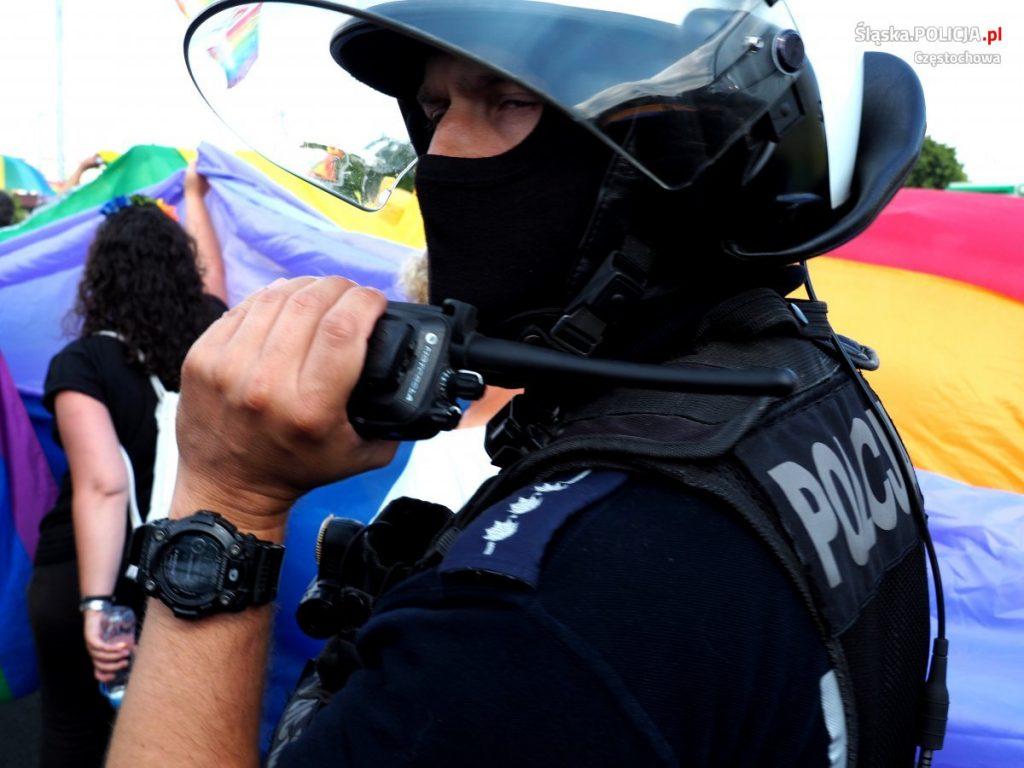Częstochowska policja podsumowuje sobotni Marsz Równości 4