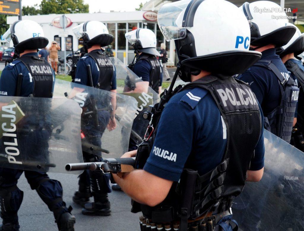 Częstochowska policja podsumowuje sobotni Marsz Równości 3