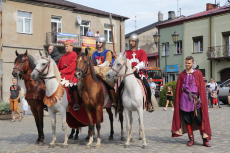 Impreza plenerowa Łowy Króla Kazimierza w Przedborzu 7
