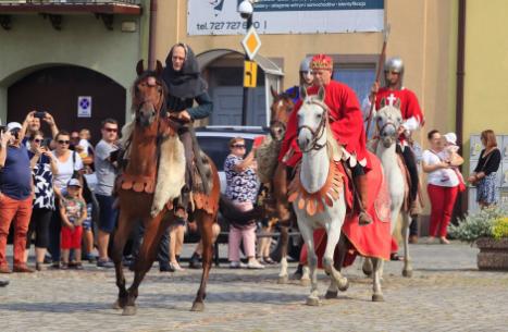 Impreza plenerowa Łowy Króla Kazimierza w Przedborzu 8
