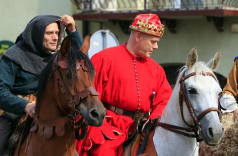 Impreza plenerowa Łowy Króla Kazimierza w Przedborzu 9
