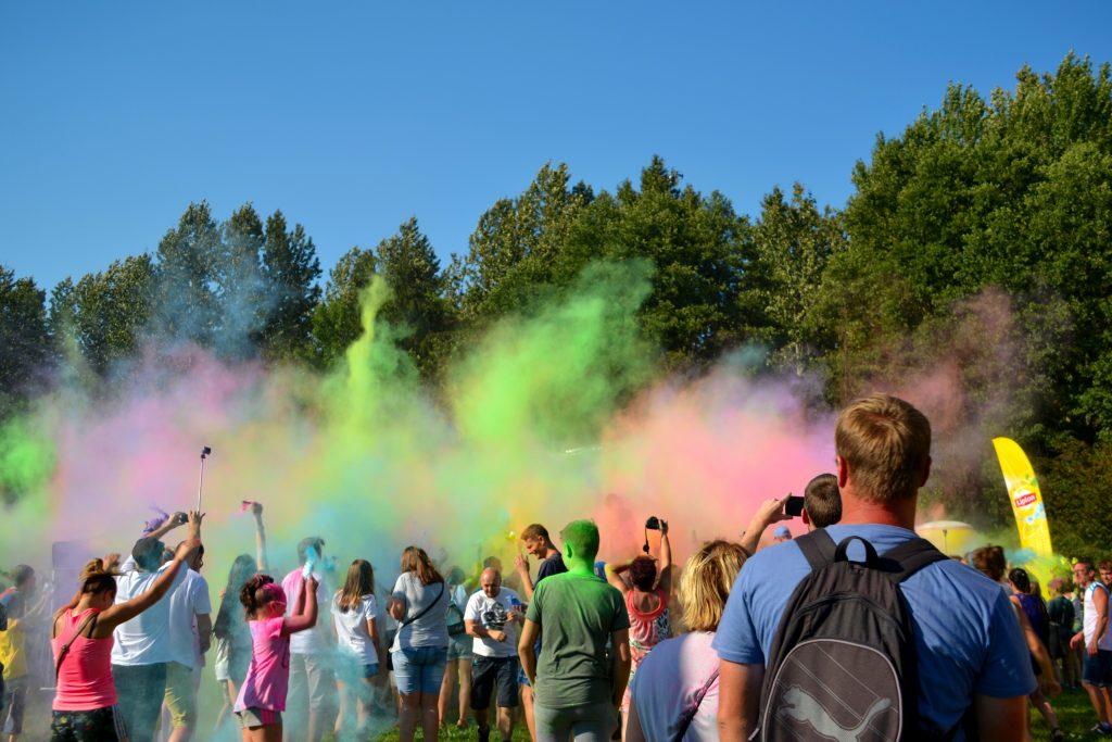 Festiwal Kolorów w Częstochowie 2