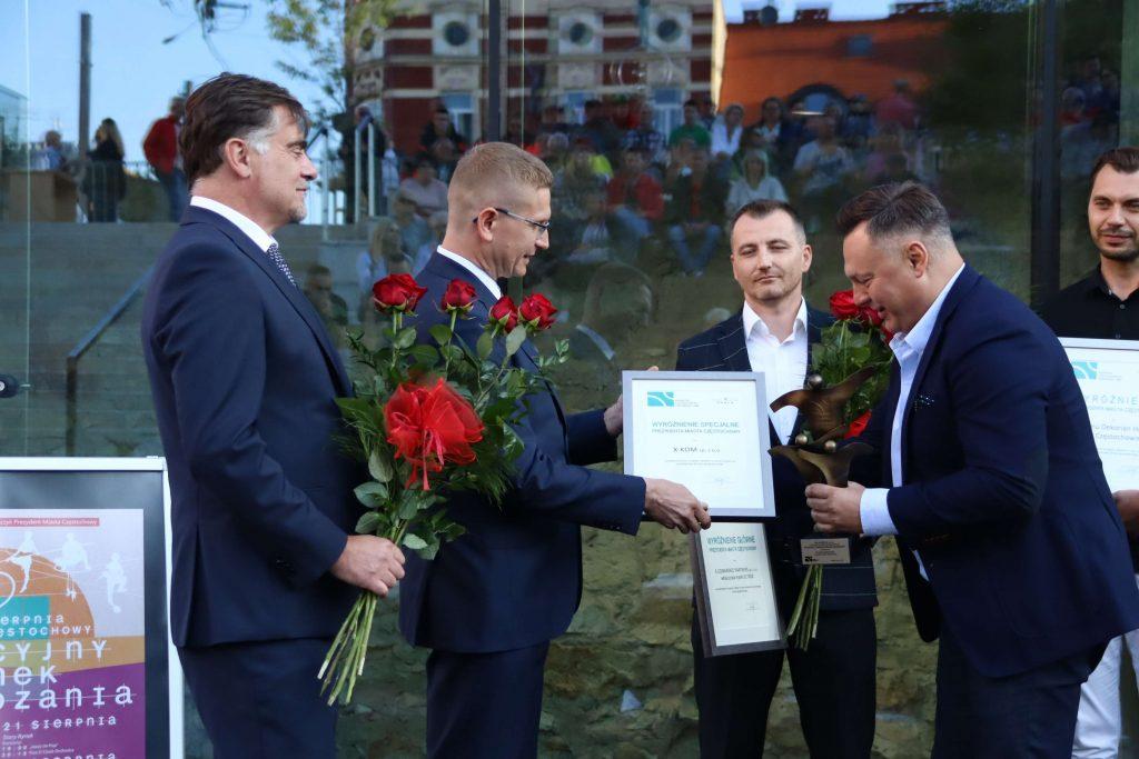 Nagrody prezydenta miasta wręczone. Kto otrzymał tytuł Promotora Częstochowskiej Gospodarki? 6