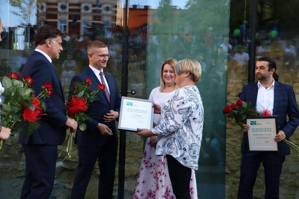 Nagrody prezydenta miasta wręczone. Kto otrzymał tytuł Promotora Częstochowskiej Gospodarki? 5
