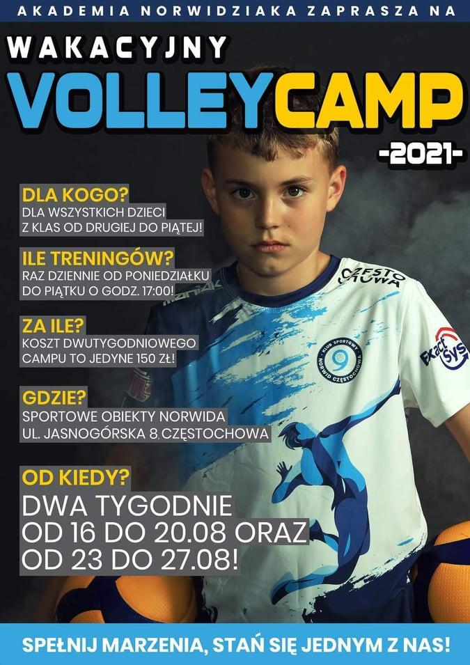 Akademia Norwidziaka zaprasza w drugiej połowie sierpnia na Volley Camp 3