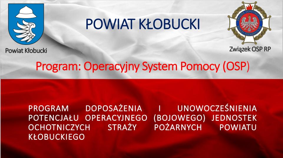 Nowoczesne drony bojowe dla służby OSP Powiatu Kłobuckiego 1