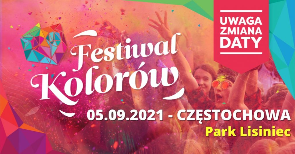 Festiwal Kolorów w Częstochowie 1