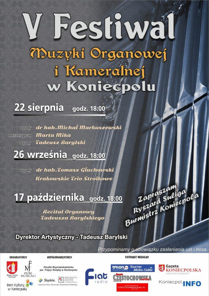 V Festiwal Muzyki Organowej i Kameralnej w Koniecpolu 1