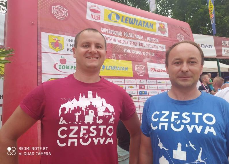 Częstochowscy sędziowie siatkówki plażowej promują Częstochowę w całej Polsce 1